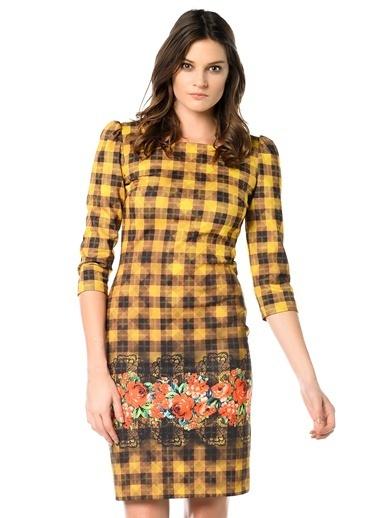 Kiwe Elbise Sarı
